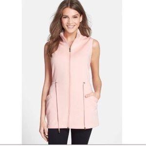 UGG Pink Antonia Fleece Sweatshirt Vest